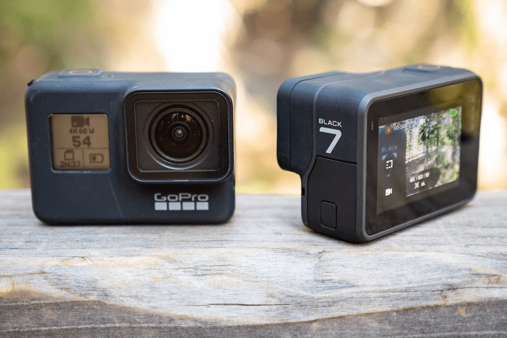 GoPro Hero 6 vs 7